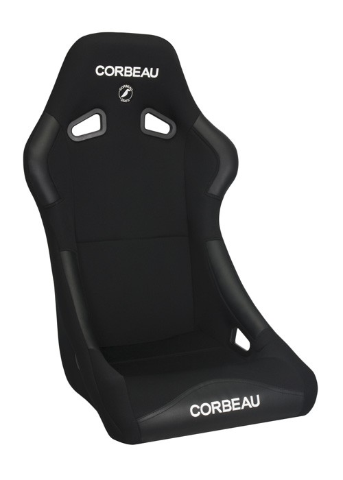 Corbeau Forza in black cloth