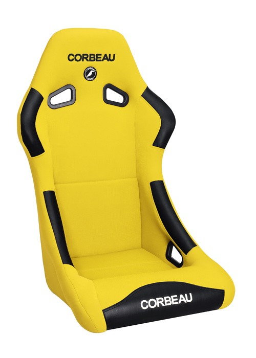 Corbeau Forza in yellow cloth
