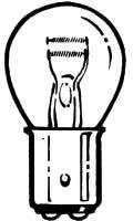 Parking lamp bulb for 1964-66 Mustang