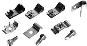 Gas line & brake line clip kit