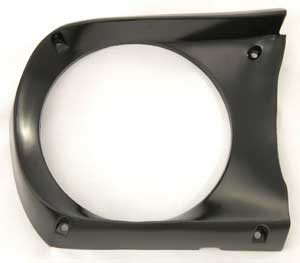 Headlamp door