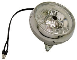 Tri-bar clear foglamp