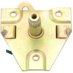 Door handle shaft assembly