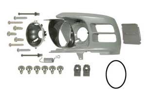 Headlamp bucket assembly