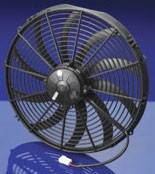 Spal 16inch curved blade high performance puller fan