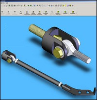 Industry standard CAD software is utilized to design each component