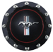Billet 'RUNNING HORSE' Black Gas Cap