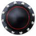 Billet 'PLAIN' Black Gas Cap