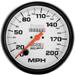 "Auto Meter Phantom 5"" 200mph Speedometer"