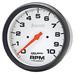 "Auto Meter Phantom 5"" 10,000rpm Tachometer"