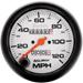 "Auto Meter Phantom 3-3/8"" 120mph Speedometer"