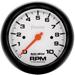 "Auto Meter Phantom 3-3/8"" 10,000RPM Tachometer"