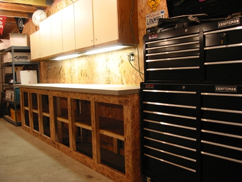 Tool storage under workbench tool storage for 2x4 kitchen cabinets